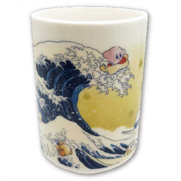星のカービィ ふわふ和コレクション 湯呑み プププ三十六景 フロートアイランズ沖浪裏