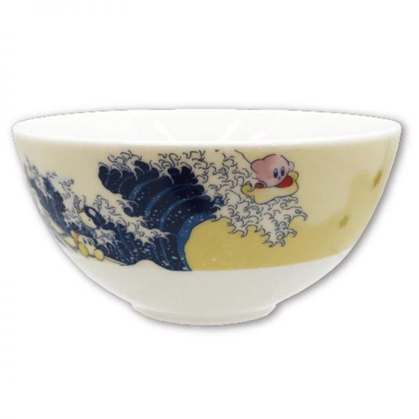 星のカービィ ふわふ和コレクション 茶碗 プププ三十六景 フロートアイランズ沖浪裏